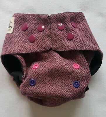 Lily's Pupu  Wool nappy cover size nb -  os slim new