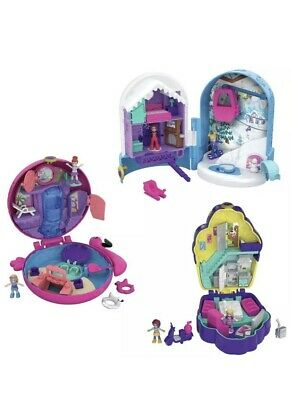 Polly Pocket World Compact Assortment Bundle (FRY 36, 37 & 38) BRAND NEW IN BOX