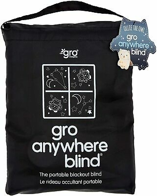 The Gro Company Gro Anywhere Portable Blackout Blind with Suction Cups