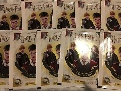 10 Packets Packs of Harry Potter Sticker Collection Stickers 2020 PLEASE READ