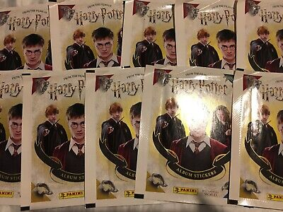 20 Packets Packs of Harry Potter Sticker Collection Stickers 2020 PLEASE READ
