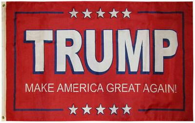 Trump 2020 Make America Great Again! Red Flag 3x5 w/ Grommets New!!