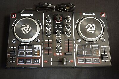 Numark Party Mix Beginners DJ Controller for Serato DJ Lite with 2 Channels