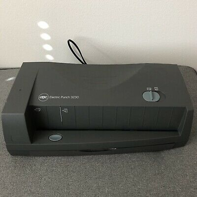 GBC 3230 Electric Punch - Tested