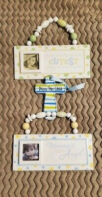 Baby Decor-2 Frames and Cross