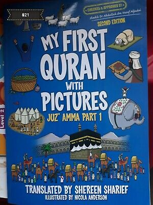 My First Quran With Pictures Juz Amma Part 1  islam muslim eid gift