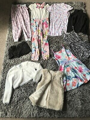 girls clothes bundle age 5-6 years 9 Items Inc Ted Baker River island