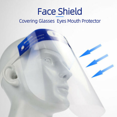 Safety Clear Face Shield Isolation Visor Eyes Protector Anti-Fog Dustproof
