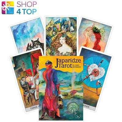 Japaridze Tarot Cards Deck And Book Set By Nino Japaridze Us Games Systems New