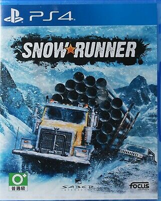 SnowRunner Asia Chinese/English/Japanese subtitle PS4 BRAND NEW