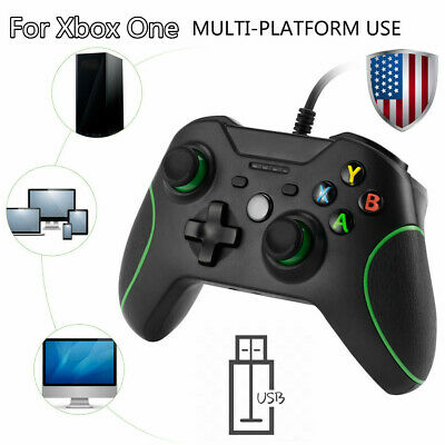Wired Game Controller Gamepad Joystick Pad for Microsoft Xbox 360 & PC 7 8 10