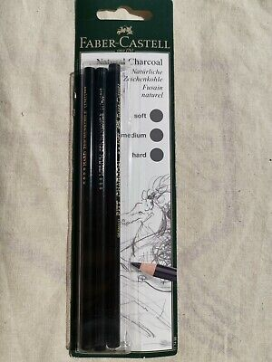 Faber-Castell Natural Charcoal Pencils