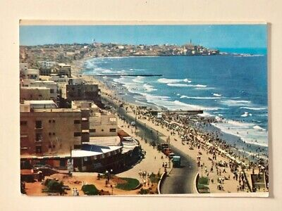 The Sea Shore - Tel Aviv - Jaffa - Israel 1966.