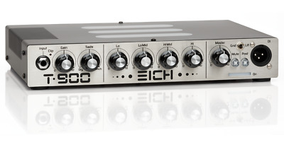 Eich Amplification T-900*Ultra-Quality Lightweight Basshead Made In Germany*
