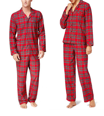 SIZES/COLORS CLEARANCE!! Family Pajamas Brinkley Plaid Pajama Set Mens / Womens