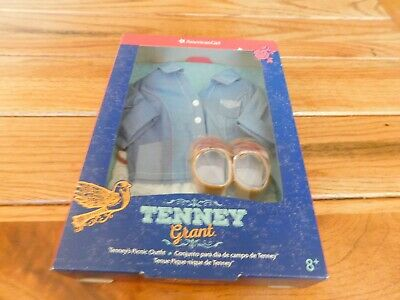 American Girl Tenney Grant Picnic Outfit New In Box Retired Free Shipping Sealed