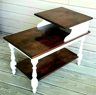 Vintage Mid-Century 3-Tier End Table/Antique Side Table/Heywood Wakefield