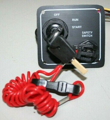 Marine Ignition Switch Panel With Kill Switch