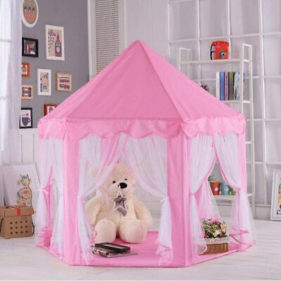 Princess Tent Girls Large Playhouse Kids Castle Play Tent for for Children