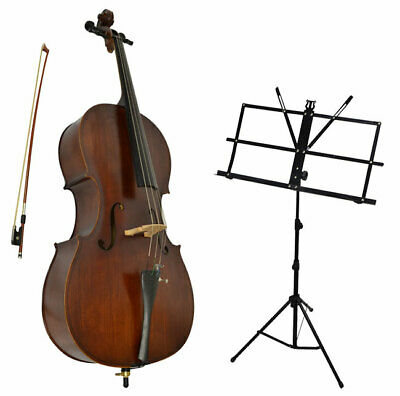 Sotendo 1/4 Size Student Cello with Music Stand