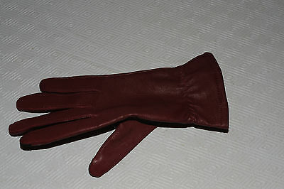NWOT Touchpoint Women's Genuine Leather Cashmere Glove Size S One Hand Only