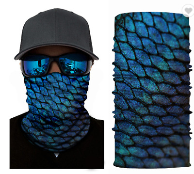 Mystical Dragon Scales - Neck Gaiter - Face Cover US SAME DAY SHIP