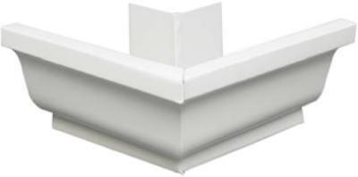"5"" White Aluminum Outside Mitre Only One"