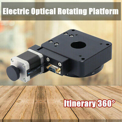 Electric Optical Rotating Platform Worm Gear High-Precision 360° Itinerary US