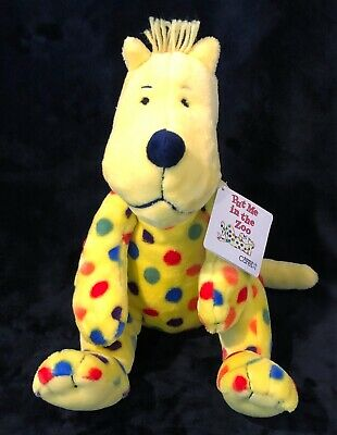 Kohl's Cares Stuffed Plush Put Me In The Zoo Polka Dot Dr Seuss Stuffed Toy New