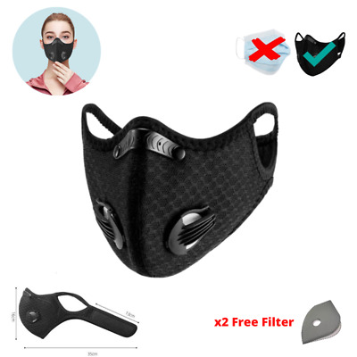 Full Protection Reusable Washable Smart Face Mask Anti Air Pollution Respirator