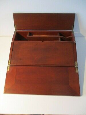 Antique Wooden Artist Drawing / Writing Slope Box