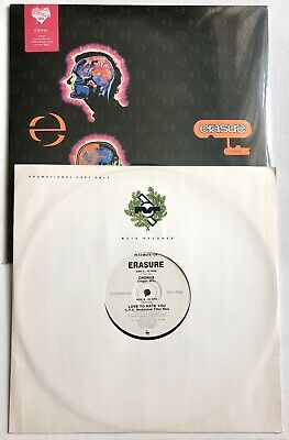 ERASURE - Chorus - Vinyl limited Ed Sealed Lp + Love To Hate You Promo Record