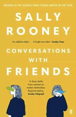 BRAND NEW Sally Rooney Conversations With Friends Paperback Book FAST & FREE P&P