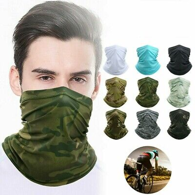 Cycling Scarf - Sun UV Protection Neck Gaiter Magic Face Cover Scarf Dust Wind