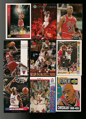 36 Different Michael Jordan Cards Great Lot Of 36 Ud Fleer Skybox Stadium Club