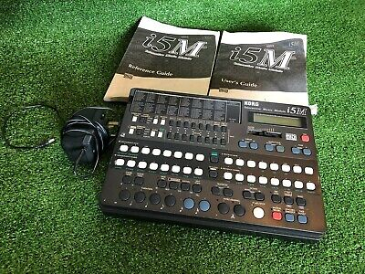 KORG i5M Interactive Music Module MIDI Auto-Accompaniment AI2 Synth inc Manuals