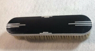 Vintage Art Deco Black Clothes Brush