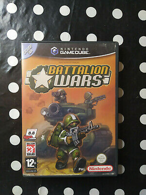 Jeu Nintendo Game Cube * Battalion Wars * Version Pal