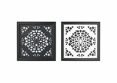 CoCaLo Couture Elsa 2-Piece Wall Art in Black/White
