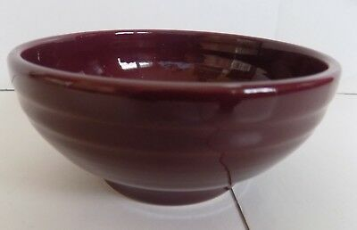 Fiesta Retired Claret Small Rice Bowl...1st Quality...NWT
