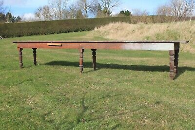 Large Victorian Pine Table ,Country House Pine Table