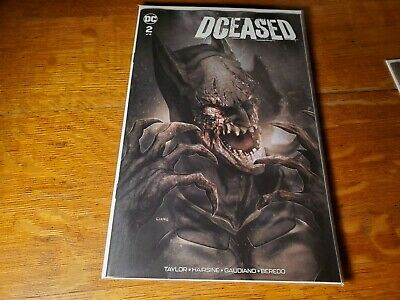 DCeased #2 Exclusive John Giang Batman Variant A Cover nm