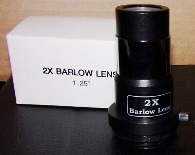 Antares 2X Barlow Lens.  New In Box.