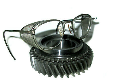 Antique American Optical Mesh Goggles Safety Glasses Vtg Cool Old AO 48 Specs