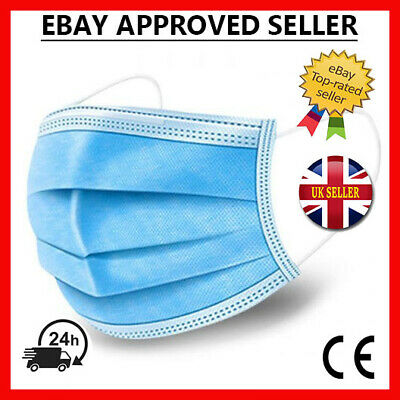 Disposable  Surgical Face Mask Mouth Guard Cover 3 PLY
