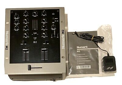 Numark M2 2-Channel Scratch DJ Mixer Excellent Conditions *****