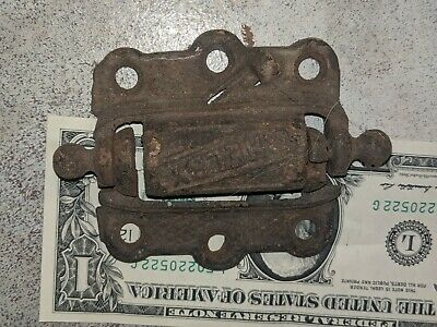 Antique Shelby Cast Iron Victorian Spring Loaded Screen Door Hinge