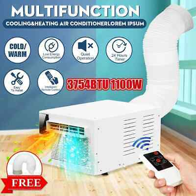 Desktop air conditioner 1100W 220V/AC Cold/Heat dual use 24-hour timer With