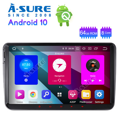 DVD Player GPS Bluetooth USB FM Autoradio für VW Touran Polo Skoda Octavia Navi