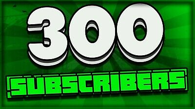 Get ( 300 ) REAL SUBSCRIBERS on your channel FOR low price